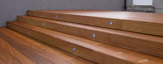 Timber Decking & Steps for your home.