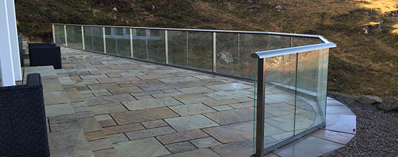 Aberdeenshire Glass Railings